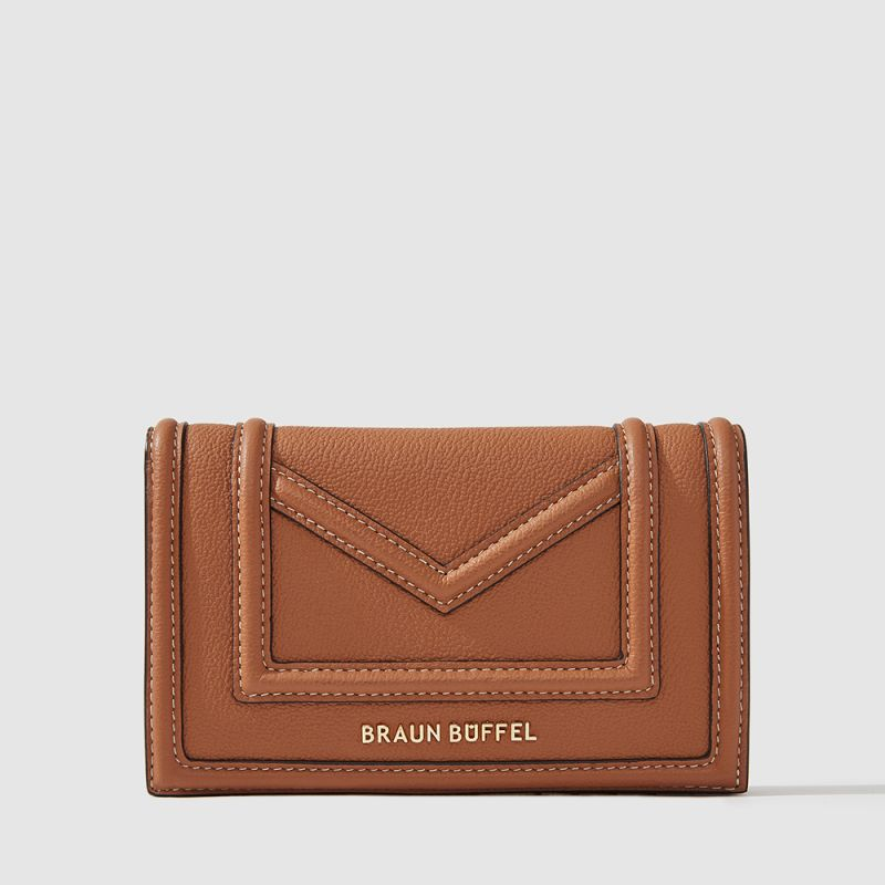 CATE 2 FOLD 3/4 WALLET (BOX GUSSET)