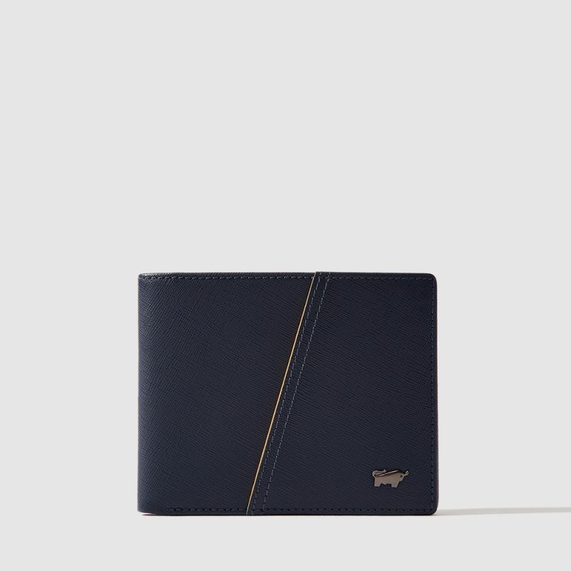 ICONIC WALLET WITH COIN COMPARTMENT