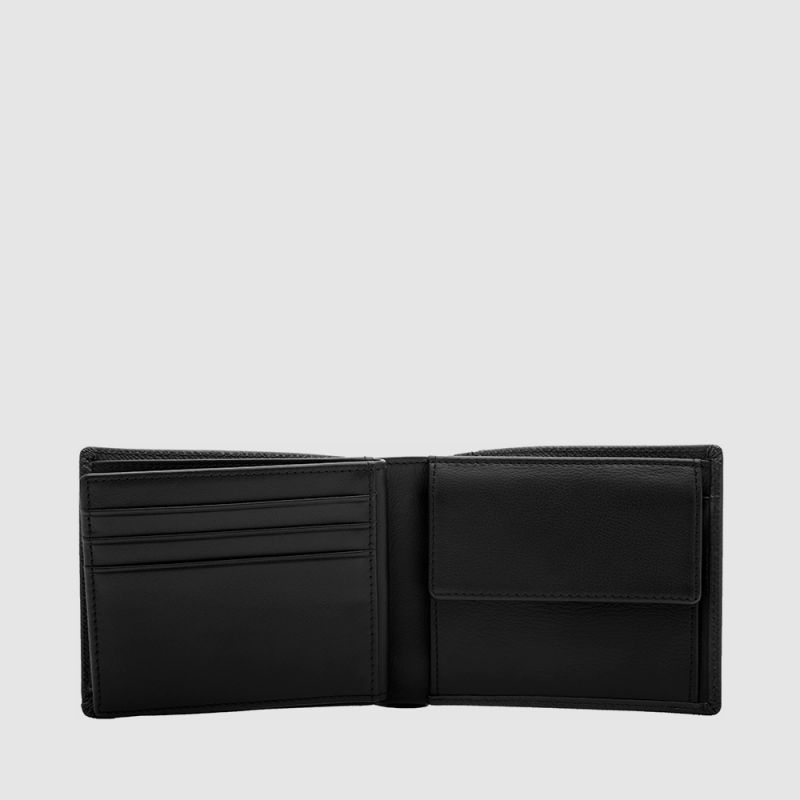 VIKTOR CENTRE-FLAP WALLET WITH COIN COMPARTMENT