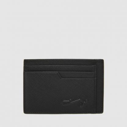 BLACK FLAT CARD HOLDER
