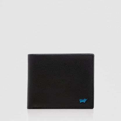 NEWNOMAD WALLET WITH COIN COMPARTMENT IN BLACK