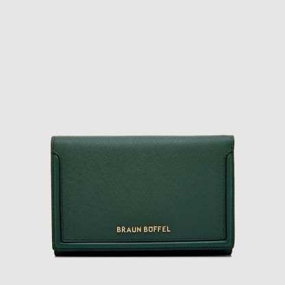 SECRET 2 FOLD 3/4 WALLET WITH EXTERNAL CLASP PACKET